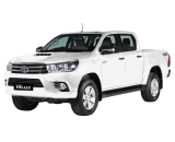 All New Hilux D-Cab 2.4 Diesel V 4x4 A/T